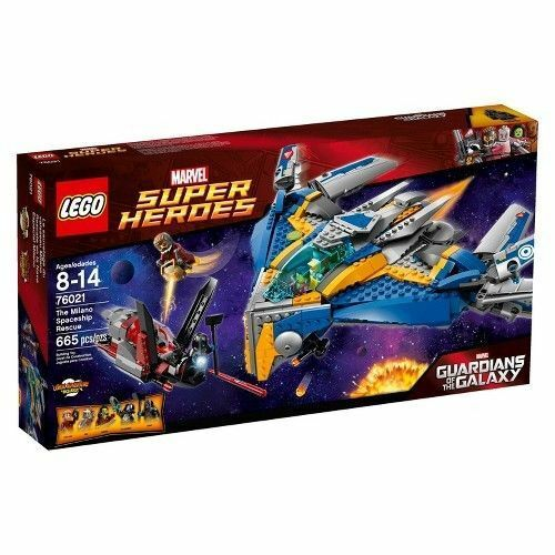 76021 THE MILANO SPACESHIP RESCUE lego NEW legos set guardians galaxy drax ronan