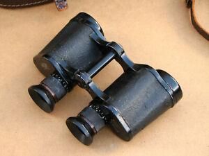 Carl-Zeiss-Jena-Silvamar-6x30-Fernglas-in-Tasche-made-in-Germany-WWII