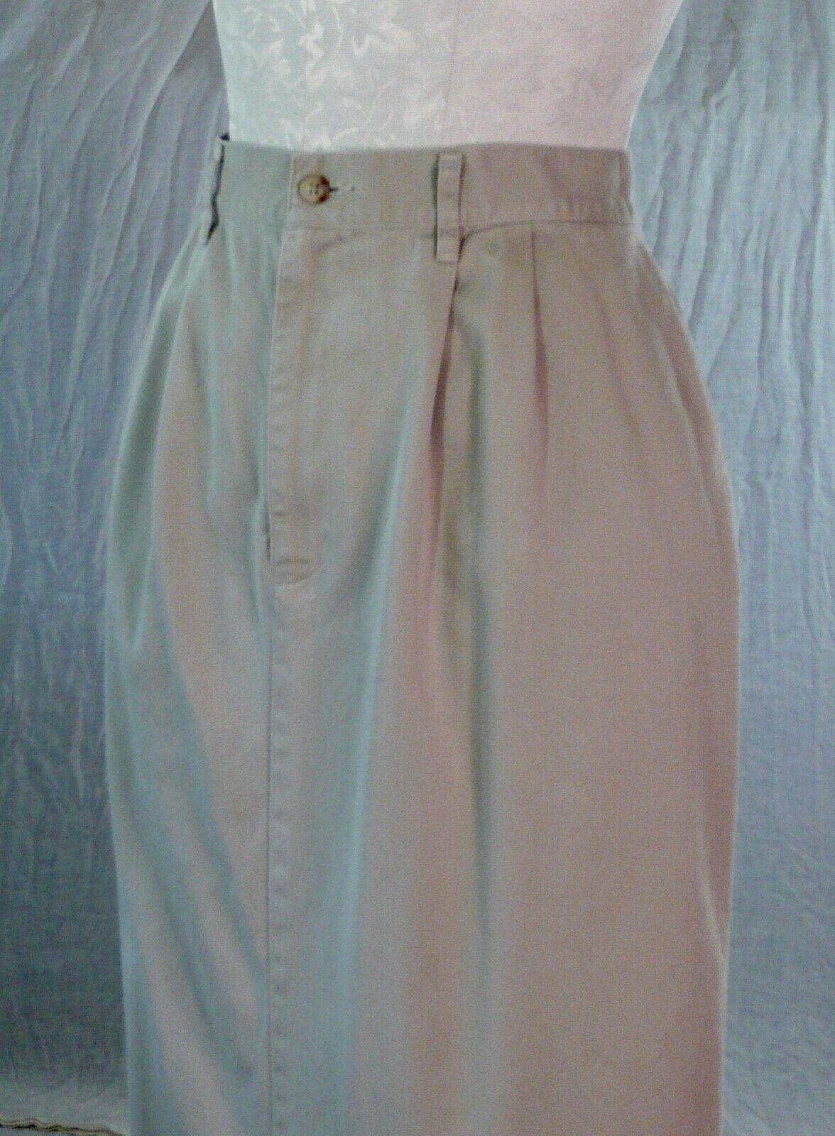 RALPH LAUREN vintage 70s 80s cotton khaki TROUSER… - image 4