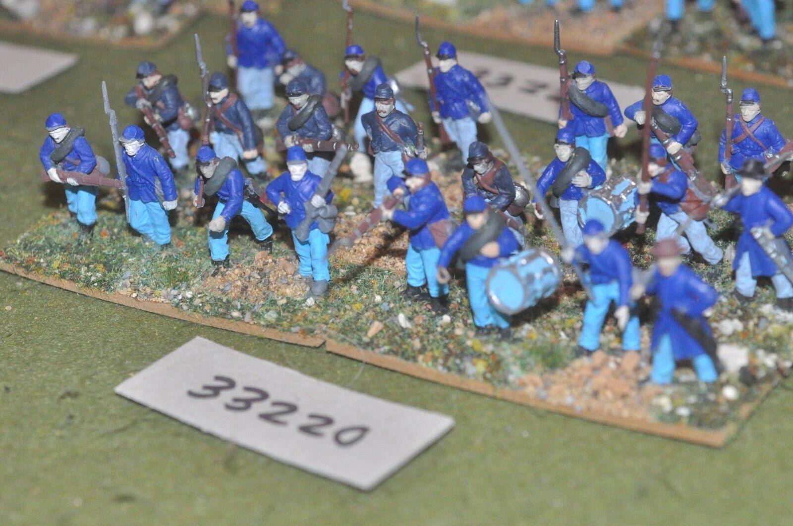 25mm ACW   union - regiment (plastic) 24 figures - inf (33220)