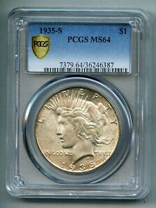 1935-S-Peace-Silver-Dollar-PCGS-MS-64