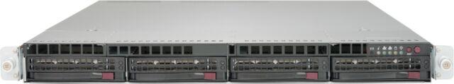 1U Supermicro Server X9DRW-7TPF 2x LGA-2011 Barebone CTO 3x PCI-e 2x SFP+ 2x PS