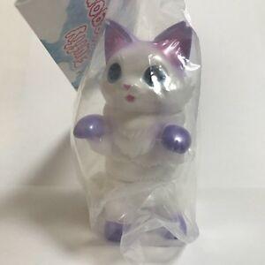 Konatsuya-NEGORA-FLUFFY-White-Pearl-sofubi-figure-Konatsu-shibara-Cat-Japan-F-S