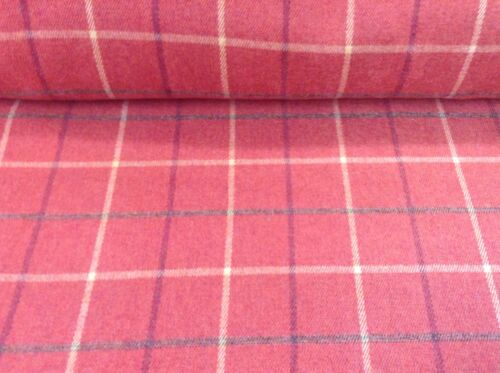Balmoral Rustic Wool Type Pin Check 140cm wide Upholstery//Curtain//Craft Fabric