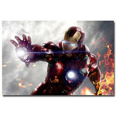 The Avengers Iron Man Hulk Thor Art Silk Poster 12x18 24x36
