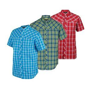 Mens Regatta Honshu IV Summer Holiday Casual Short Sleeve Check Shirt RRP £40