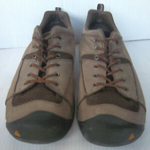 Brown Lace up Sneakers Tennis Shoes