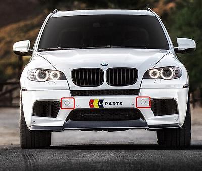 BMW SERIE NUOVO ORIGINALE X5 E70 LCI 10-13 gancio traino paraurti anteriore Eye Cover 7222744