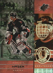 2000-01-SPx-Prolifics-P1-Dominik-Hasek-NM-MT