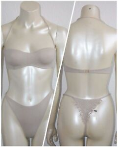 LA-PERLA-Damen-TANGA-Bikini-Set-Gr-75-38-UVP-232
