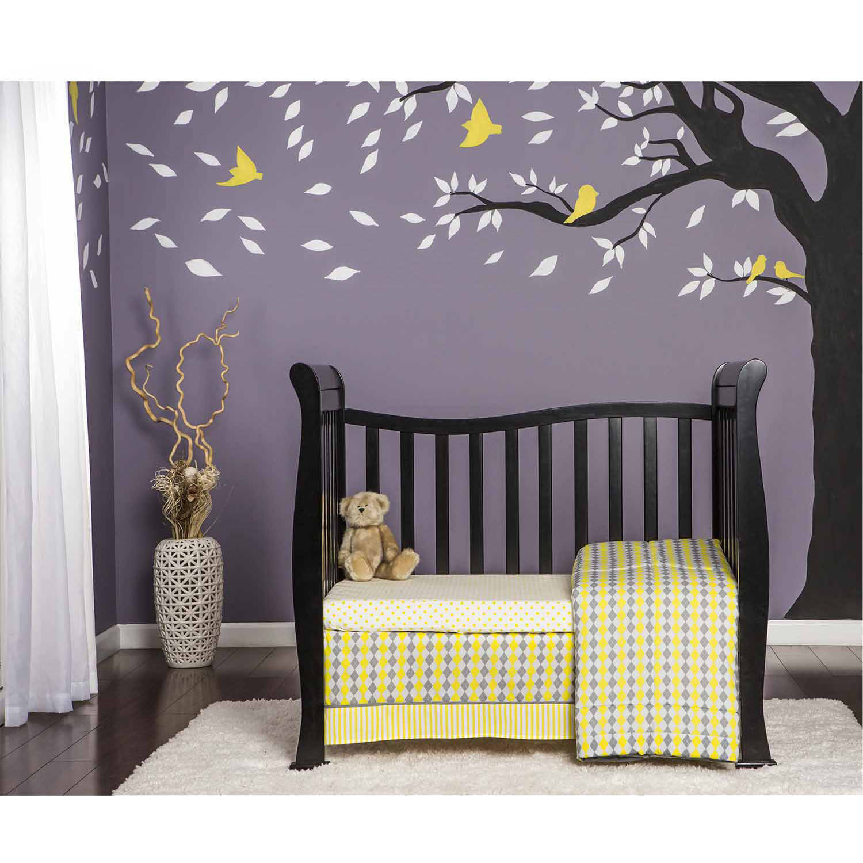 crib 4 in 1 mini with bonus mattress baby set convertible toddler bed nursery ebay. Black Bedroom Furniture Sets. Home Design Ideas