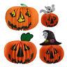 Halloween Pumpkin Spider Ghost Bats Paper Lantern Lamp outdoor Decoration GT
