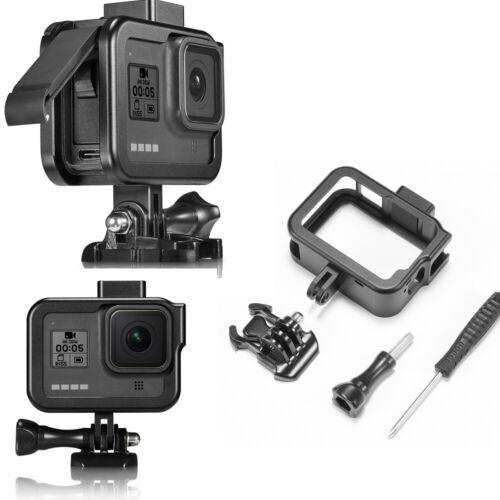 Alluminio Protettivo Telaio Supporto per Gopro HERO8 Hero 8 Fotocamera Accessori