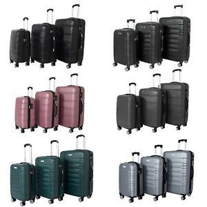 Hartschalen-Reisekoffer-Trolley-L-XL-XXL-SET-Reise-Koffer-Case-Tasche-Trolly