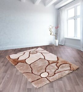 Ultimate-3D-Carved-Flower-Natural-Coloured-Modern-Style-Rug-in-various-sizes
