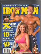 IronMan Bodybuilding muscle fitness magazine/Arnold Classic Preview 3-05
