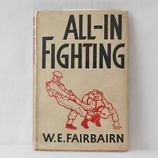 WW2 1942 W. E. FAIRBAIRN SYKES ALL IN FIGHTING COMMANDO MANUAL FABER 1st EDITION
