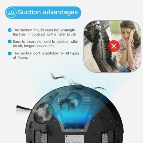 Robot Vacuum Cleaner, Upgraded 6D Collision Sensor, WiFi/App/Alexa