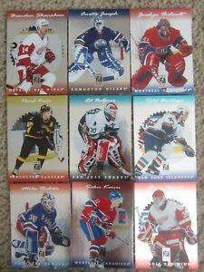1996-97-Elite-Leaf-Limited-amp-SP-Hockey-Star-Lot-32