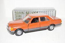 NZG Mercedes-Benz 280 S/SE/SEL 500SE/SEL rot/orange 1:35 in OVP