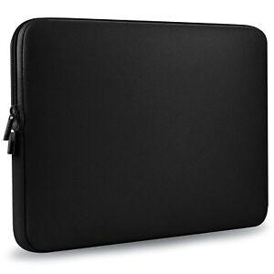 "13/"" 13.3/"" Black Neoprene Laptop Sleeve Bag Carrying Case for Macbook Pro//Air"
