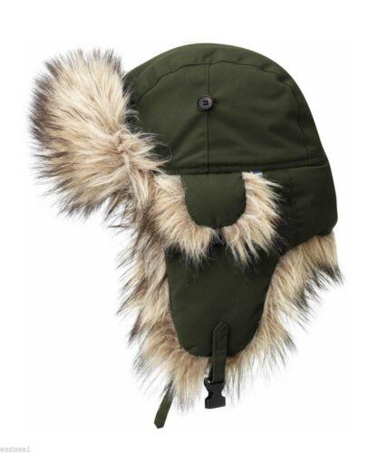 Fjällräven Winter Heater Mütze Canada Chapka Style Wintermütze green  M 56-63