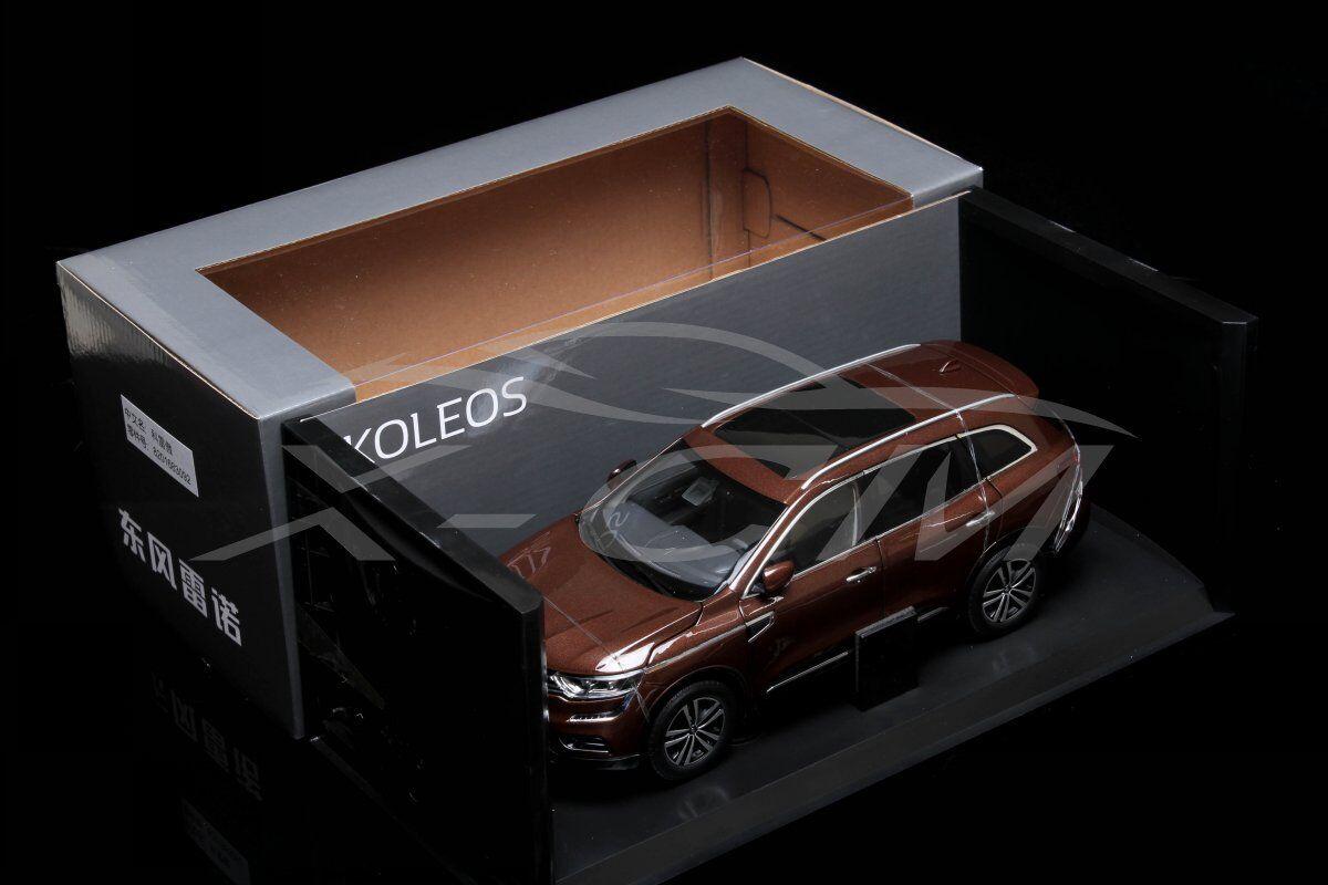 Diecast Car Model Renault KOLEOS Koleos 1 18 (Brown) + GIFT