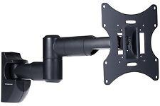Wall Mount Slim LCD TV Bracket Tilt Swivel 23-42 Inch Led Plasma Swing Arm NEW