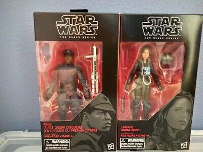 "Star Wars 56 The Black Series 6/"" Legends Jaina Solo 6/"" Case Fresh AFA it"