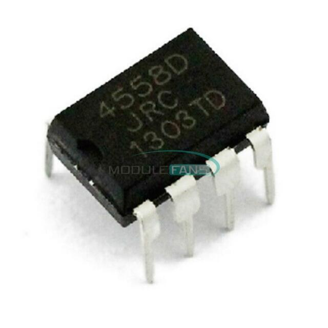 20Pcs JRC4558D Jrc 4558D DIP8 Opamp Op Amps Chip Ic New oo