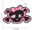 miniature 7 - PIRATE SKULL Embroidered Biker Patches Skeleton Iron / Sew on Badges Grim Reaper