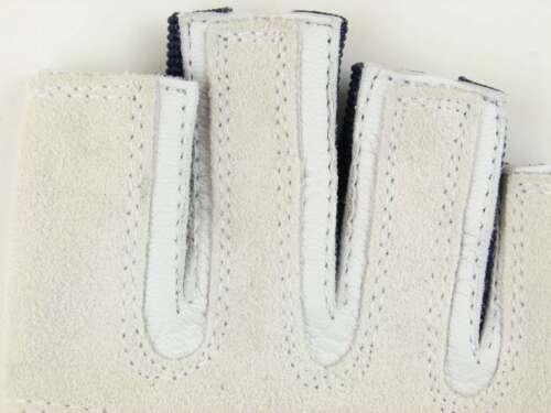 XXS XXL Blue Port Handschuhe 5-11 BluePort Segelhandschuhe Ziegenleder Gr
