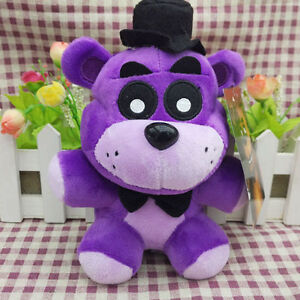 "NEW Funko Five Nights At Freddy's 6"" Shadow Freddy Bear Plush Dol Toy  Q669"