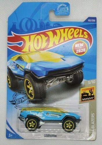 Yellow 102//250 Hot Wheels 2020 Baja Blazers Geoterra