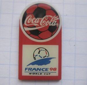 COCA-COLA FIFA WM 98 FRANCE / FUSSBALL ...... Sport-Pin (133g) - NRW, Deutschland - COCA-COLA FIFA WM 98 FRANCE / FUSSBALL ...... Sport-Pin (133g) - NRW, Deutschland