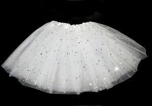 NEW-GIRLS-CHILDRENS-PINK-WHITE-STAR-NET-TUTU-SKIRT-BALLET-PARTY-DANCE-DRESS