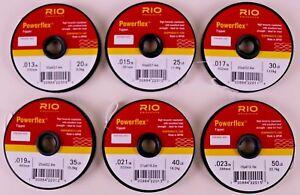 Rio Powerflex Wire Bite Tippet Spools 20 LB 30 LB 40 LB Free Shipping Options