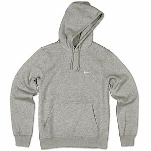 Nike Ebay Swoosh Polar Capucha Chaqueta Suéter Gris Con Sudadera 4HBzwq4p