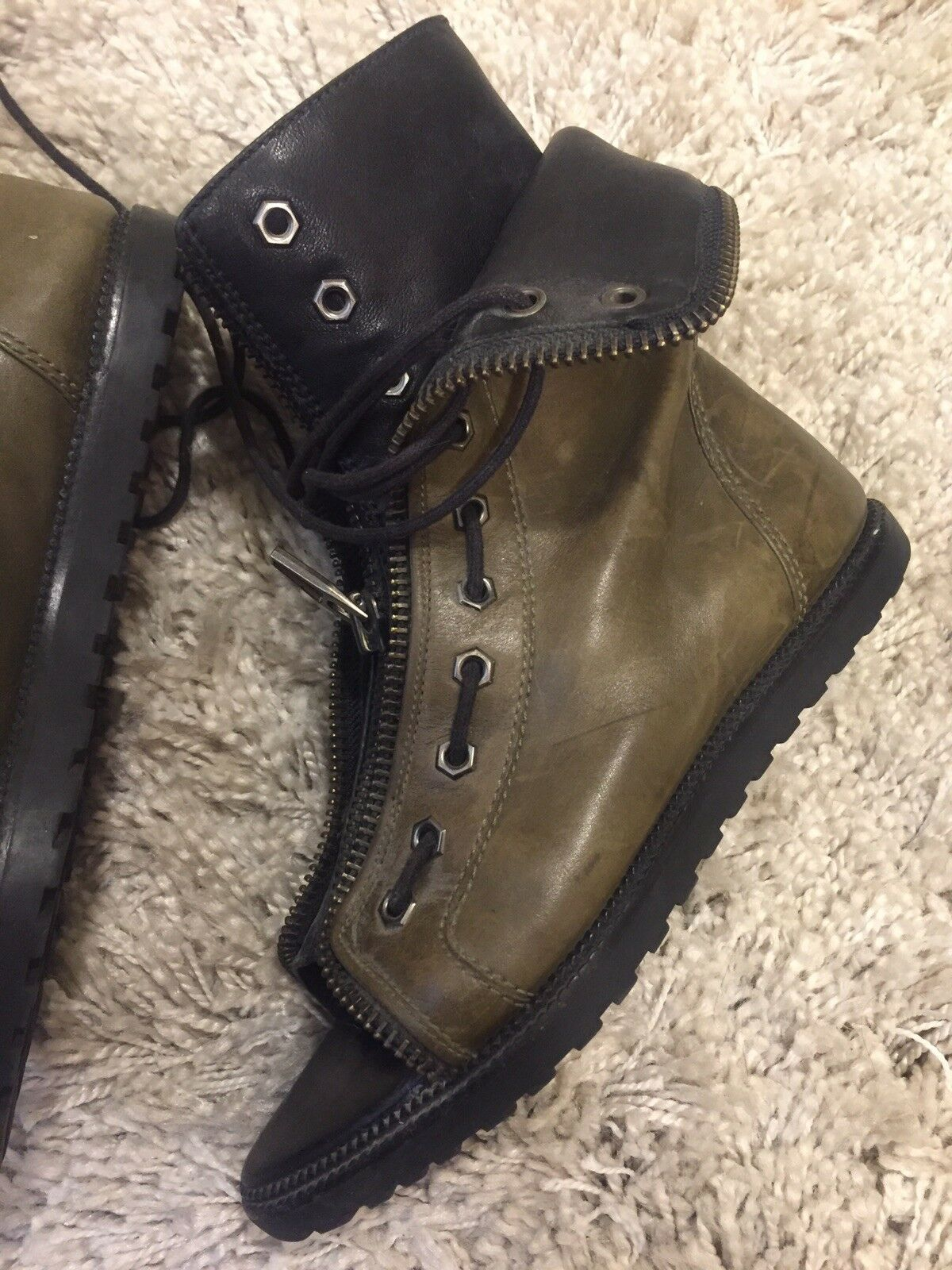 Alexander wang open toe and lace up up up Stiefel 38 ab5c3b