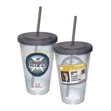 Marvel Agent Coulson Badge Acrylic 16 oz. Travel Cup NEW Mug Comics