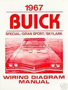 1967 buick gs skylark special wiring diagram manual ebay rh ebay com