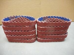 50 Norton R981 Sg 3 4 Quot X 12 Quot Scalloped 100 Grit Belts