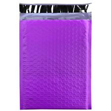 500 0 Purple Poly Bubble Mailers Envelopes Bags 6x10 Extra Wide Cd Dvd 6x9