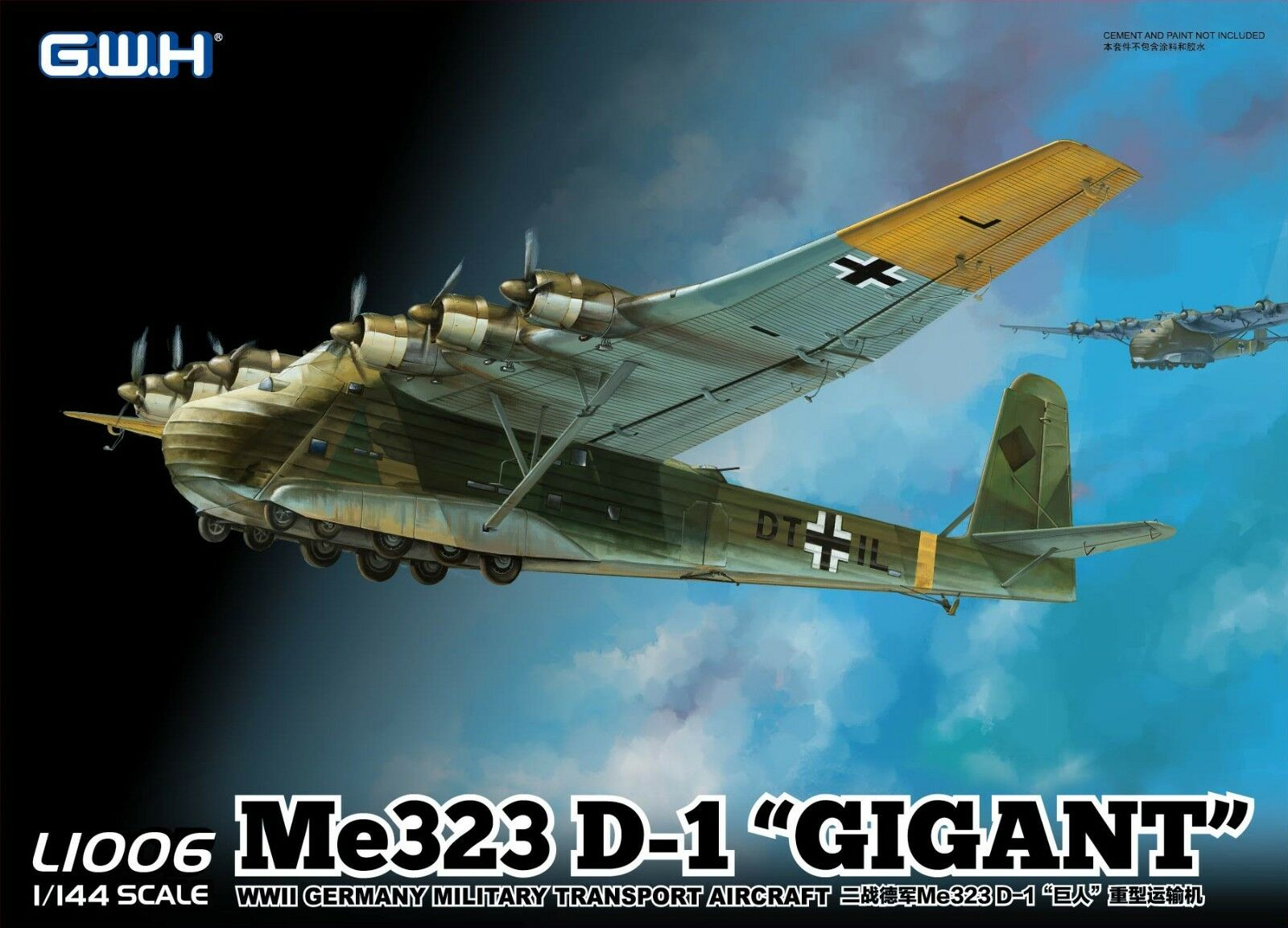 Great Wall Hobby L1006  1 144 Me 323 D-1  GIGANT