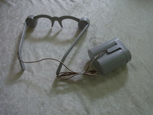 Alte Leuchtbrille NOS 50er-60er-Jahre Neu /& unbenutzt in OVP echte Rarität !