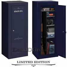 Stack On Limited Edition 18 Gun Steel Security Cabinet Safe Storage Lock Rifle