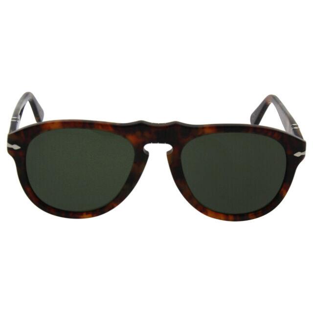 3a7f041bbd Persol 649 Aviator Sunglasses 108 58 CAFFE Brown   Green Polarized Po0649  52 Mm