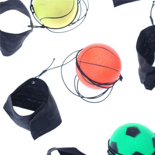 Balle en caoutchouc élastique de balle de poignet rebondissante de balle de OFQ