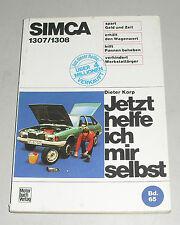 Reparaturanleitung Simca 1307 / 1308 / Solara, Baujahre 1975 - 1986