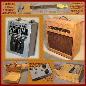 Volume Box guitar amp effect loop touchy master volume taper fix attenuator
